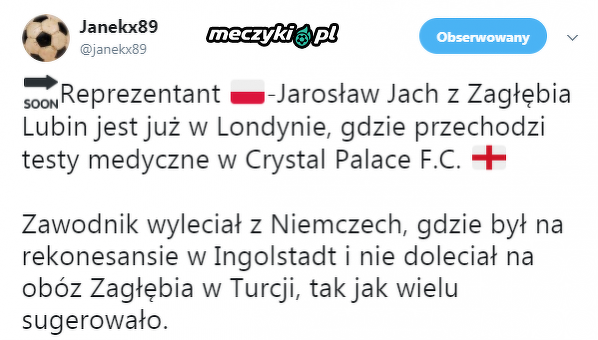 Jarosław Jach trafi do Premier League?