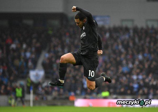 Eden Hazard strzelił dziś swojego setnego gola w ligowej karierze!