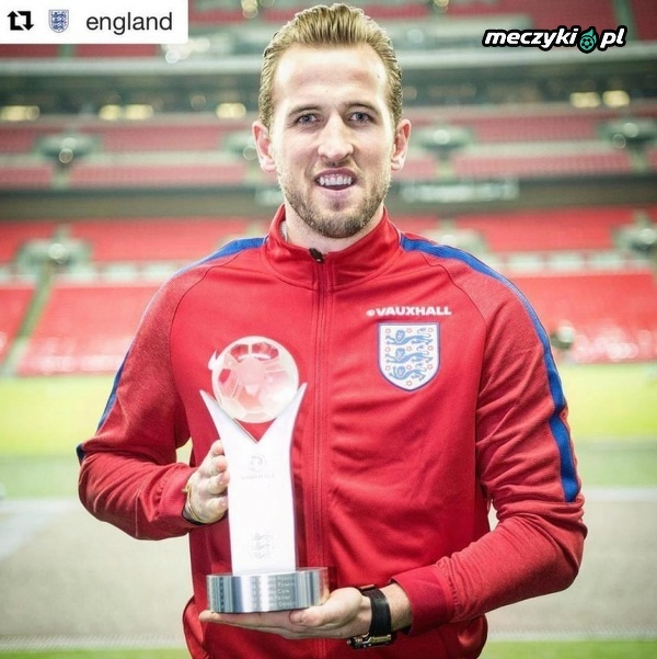 Harry Kane najlepszym angielskim piłkarzem roku
