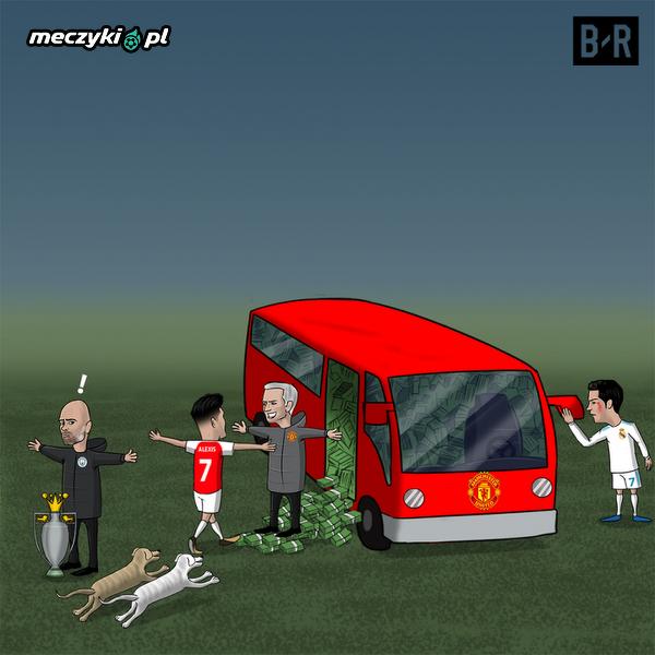Wokół transferu Alexisa do Manchesteru było wiele zamieszania