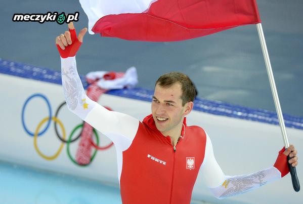 Zbigniew Bródka chorążym polskiej reprezentacji na igrzyskach