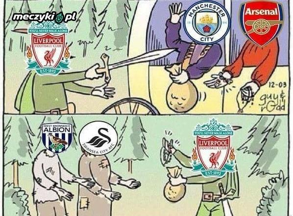 Liverpoolu z gigantami i biedniejszymi klubami