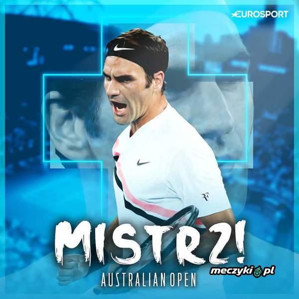 Federer wygrywa Australian Open 2018!