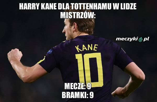 Kane zachwyca w Lidze Mistrzów