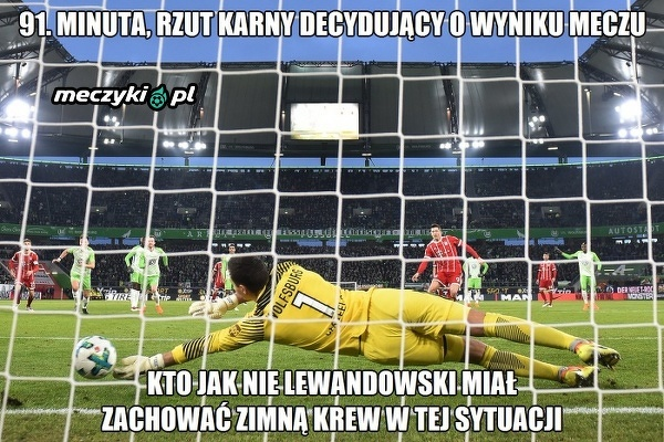 To czyni z Lewandowskiego wielkiego piłkarza