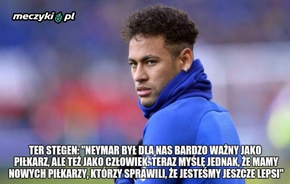 Uszczypliwy komentarz w kierunku Neymara