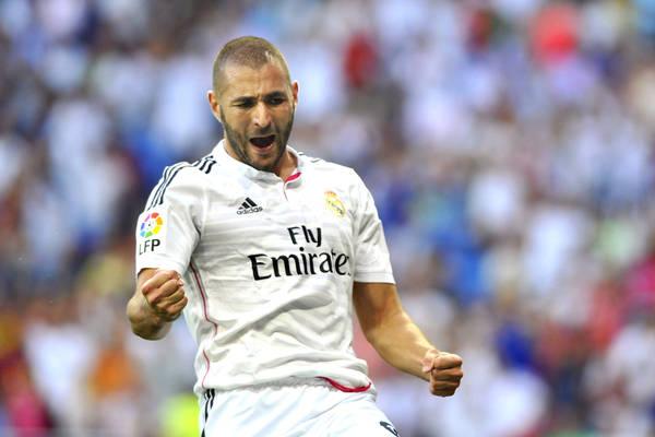 """Karim Benzema przypieczętował zwycięstwo Realu. Na początku """"Królewscy"""" mieli problemy z Realem Betis [VIDEO]"""