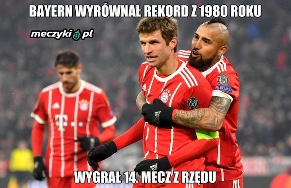 Bayern jest w rewelacyjnej formie