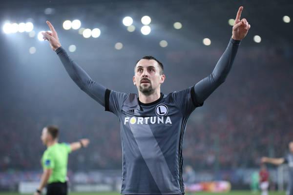 Pewne zwycięstwo Legii, rekord Kucharczyka oraz debiutanckie gole Jose Kante i Carlitosa! [VIDEO]
