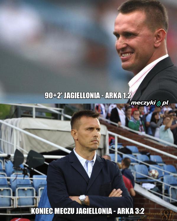 Leszek, to je Ekstraklasa, tego nie zrozumisz