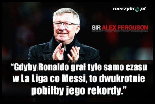 Alex Ferguson o Ronaldo