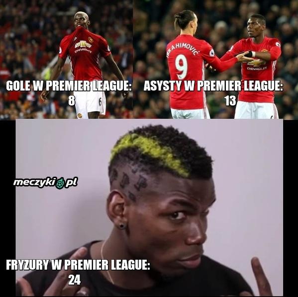 Pogba w Man Utd ma dużo na głowie