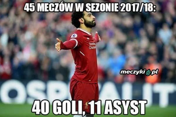 Statystyki Salaha w obecnym sezonie