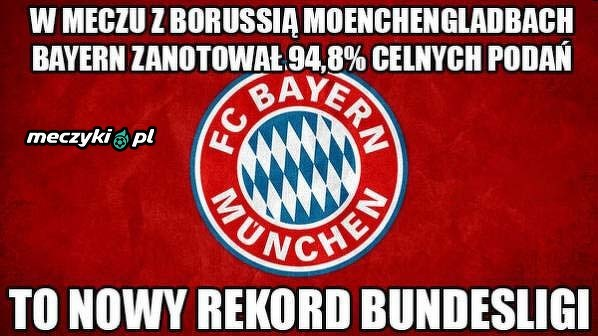 Kosmiczna statystyka Bayernu