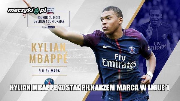 Piłkarz marca w Ligue 1