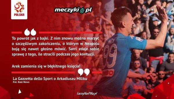 La Gazetta dello Sport o Miliku
