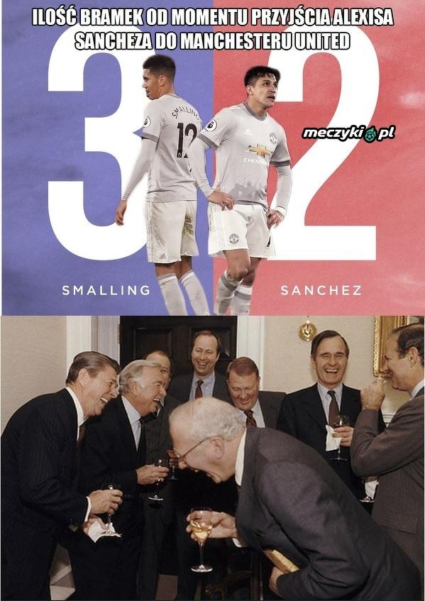 Smalling zawstydził Sancheza