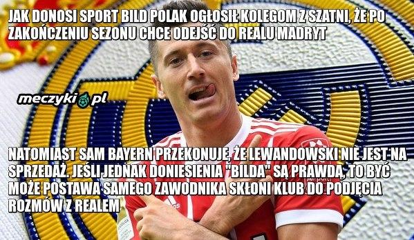 Lewandowski powiedział kolegom z drużyny że chce odejść do Realu