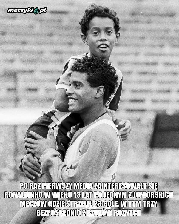 Ciekawostka o Ronaldinho