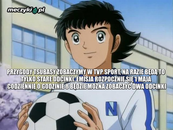 Serial animowany Kapitan Tsubasa wraca do polskiej telewizji!