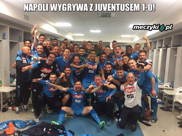 Napoli zwycięskie w bitwie o Włochy!