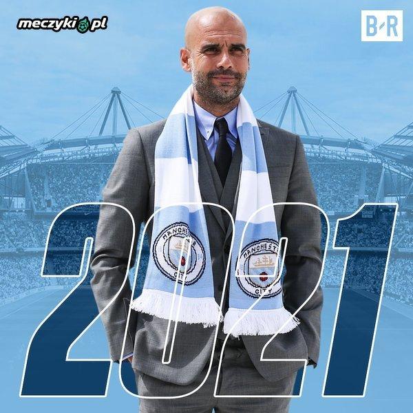 Guardiola przedłużył kontrakt do 2021 roku