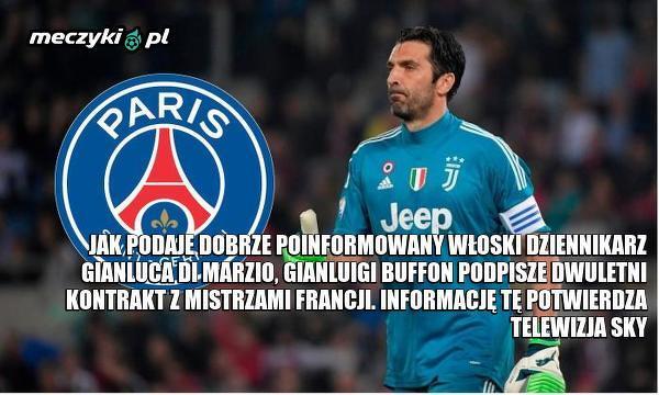 A jednak Buffon w PSG?