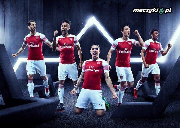 Oficjalnie: domowe stroje Arsenalu na sezon 2018/19