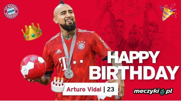Arturo Vidal kończy dziś 31 lat