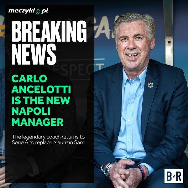 Carlo Ancelotti nowym trenerem Napoli!