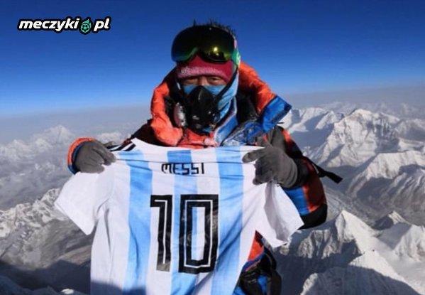 """Lionel Messi na """"Szczycie Świata"""""""