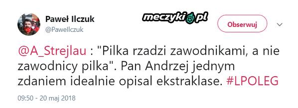 Idealny opis Ekstraklasy