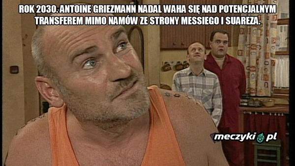 Griezmann ciągle się waha