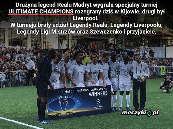 Real Madryt wygrał już w Kijowie