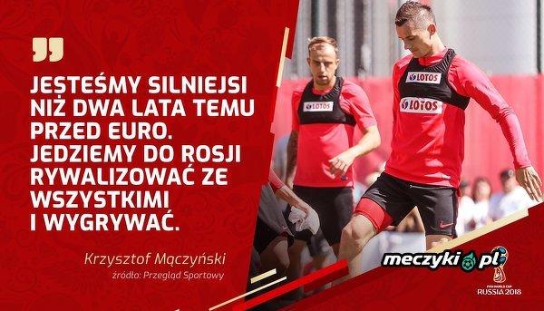 Krzysztof Mączyński o formie reprezentacji
