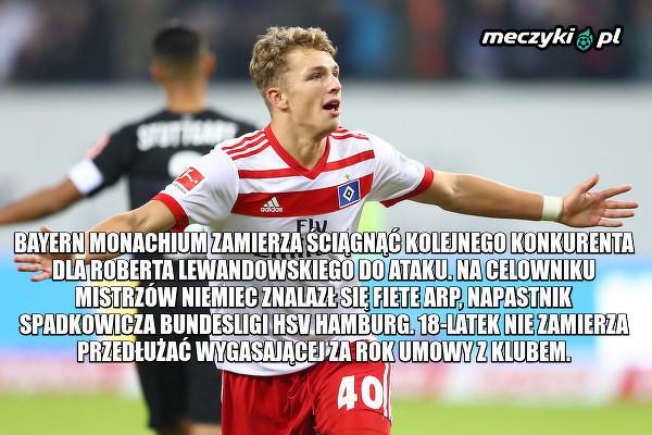 Lewandowski może mieć kolejnego konkurenta