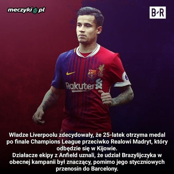 Ładny gest Liverpoolu w kierunku Coutinho