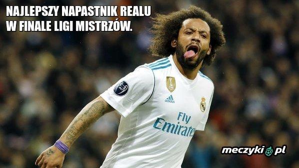Najlepszy napastnik Realu w pierwszej połowie finału Ligi Mistrzów