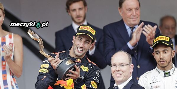 Daniel Ricciardo wygrywa swoje pierwsze GP Monako