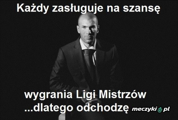 Zidane daje szansę