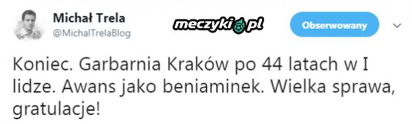 Garbarnia Kraków awansuje do I ligi