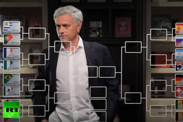 Kolejne typy Mourinho. Polacy zagrają na mundialu cztery mecze [VIDEO]