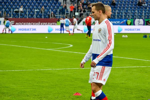 Denis Czeryszew piłkarzem meczu otwarcia