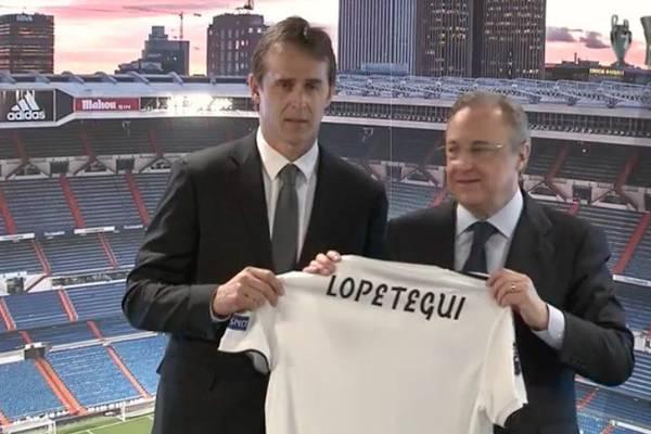 """Lopetegui zaprezentowany jako trener Realu! """"Wczoraj był najsmutniejszy dzień w moim życiu. Dziś jest najszczęśliwszy"""""""
