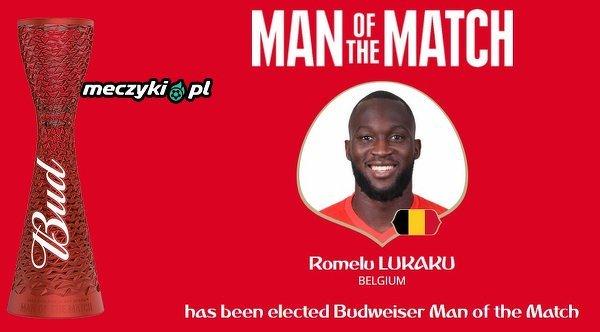 Romelu Lukaku piłkarzem meczu Belgia - Panama