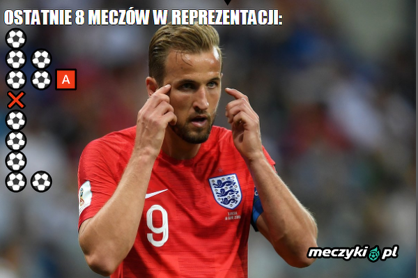 Bez Kane'a Anglia nic nie znaczy