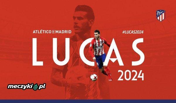 Lucas Hernandez podpisał kontrakt z Atletico Madryt do 2024 r.