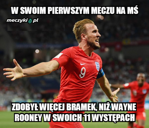 Kane już poprawił wynik Rooneya na MŚ