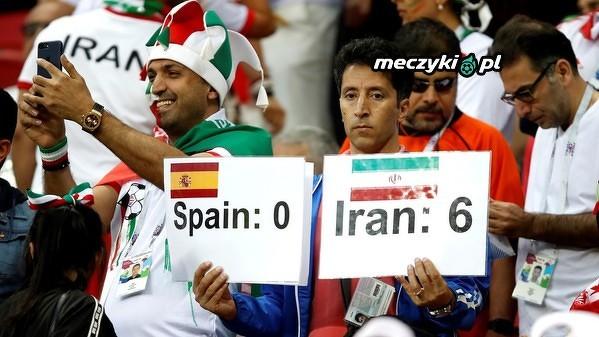 Kibice Iranu wierzą w drużynę
