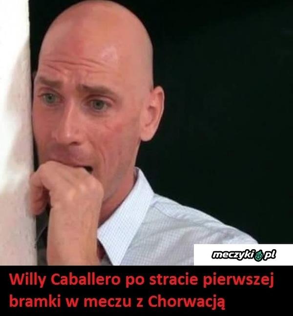 Zmartwiony Caballero